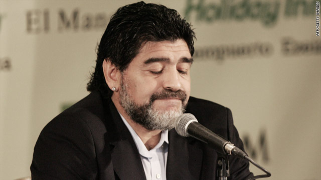 Diego Maradona was sacked as Argentina coach following a quarterfinal exit at the 2010 World Cup in South Africa.