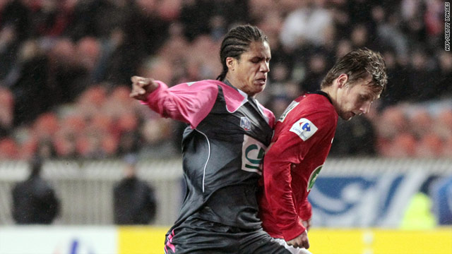 Raphael Varane (left) is now a Real Madrid player after signing a six-year contract with the club.