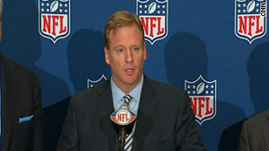 "NFL commissioner Roger Goodell said it's ""time to get back to football,"" but that can't happen until the players vote."