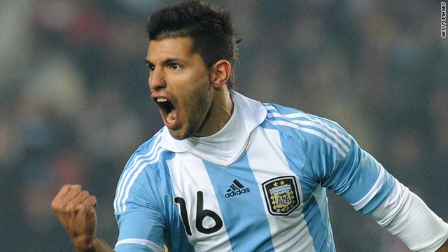 Sergio Aguero scored three goals for Argentina in the recent Copa America tournament.