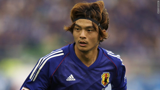 Defender Naoki Matsuda played in all four of Japan's games at the 2002 World Cup.