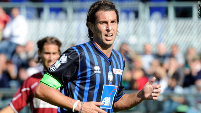 Cristiano Doni, Atalanta's 38-year-old captain, has been hit with a three-and-a-half year ban.