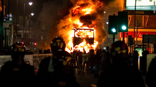 Riots, which began in Tottenham, have spread across London and to other cities.