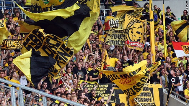 Borussia Dortmund fans who traveled to Hoffenheim were subjected to a high-pitched noise.