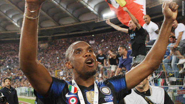Cameroon striker Samuel Eto'o is set to sign a three-year contract with the Russian club.