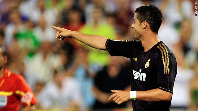 Cristiano Ronaldo has already found his scoring form with a hat-trick in Real Madrid's 6-0 thrashing of Zaragoza.
