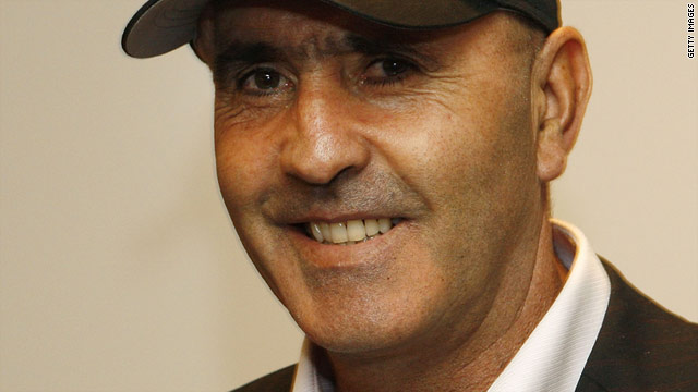 Seve Ballesteros pictured during a press conference for the 2009 World Match Play Championship in Madrid.