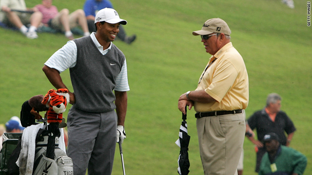 butch harmon is concerned about tiger woods career as injury forces