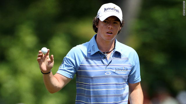 Rory McIlroy tore up the record books as he proved a class apart on the second day of the U.S. Open at Congressional.