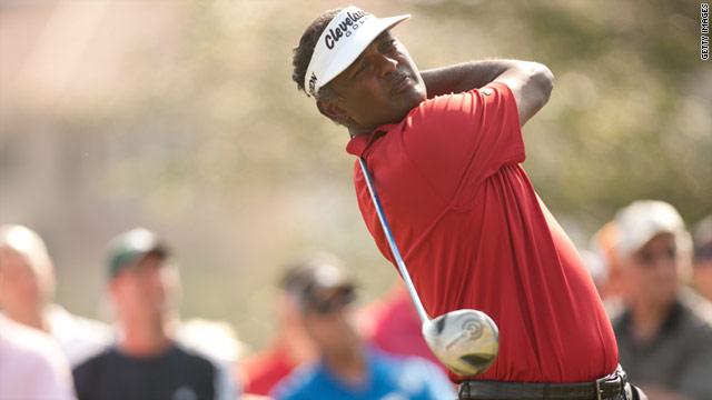 Fijian Vijay Singh reached the top of golf's world rankings in September 2004.
