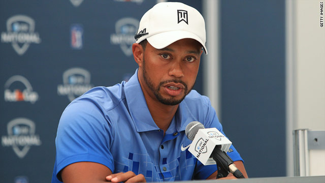 Continued problems with his left leg has forced Tiger Woods out of next week's British Open at Sandwich.