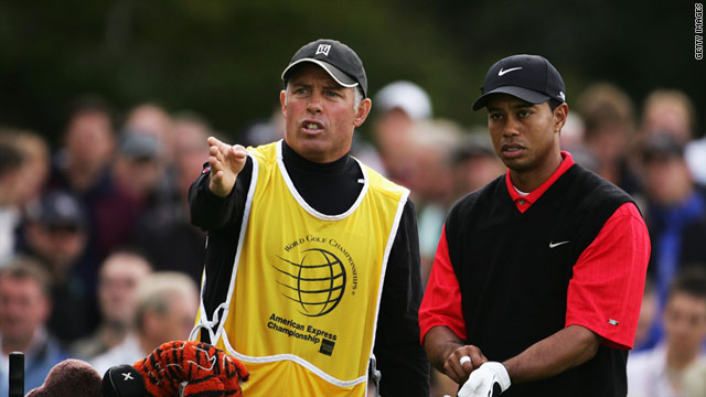 Tiger Woods and Steve Williams have combined to win 13 major titles since forming a partnership in March 1999.