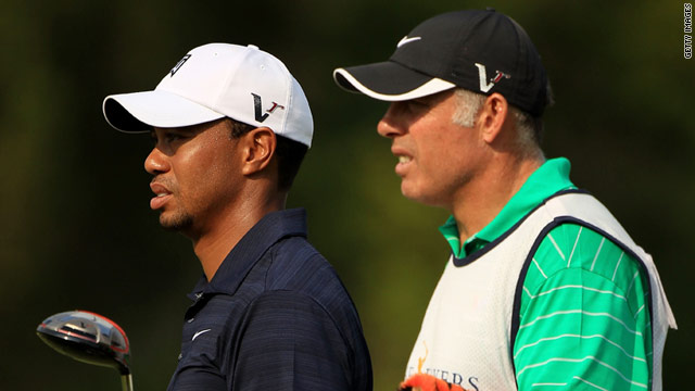 Tiger Woods (left) and Steve Williams (right) have worked together for 13 years.