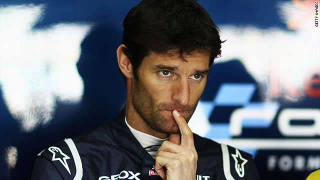 An Outspoken Mark Webber