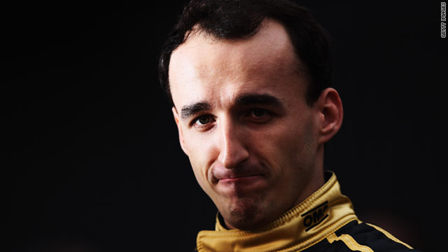 Formula One driver Robert Kubica has been in intensive care since his crash on February 6.