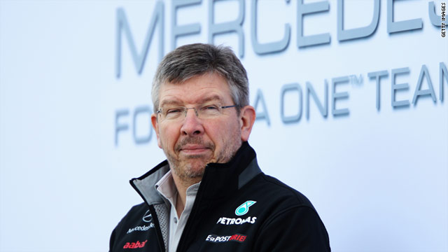 Ross Brawn, 56, has previously worked with the Benetton, Ferrari, Honda and Brawn GP Formula One teams.