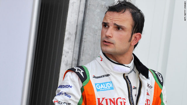 Vitantonio Liuzzi has been handed a drive with the Hispania Racing team, completing the F1 grid for 2011.