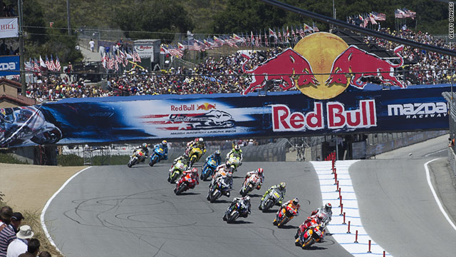 The Texas MotoGP will be the third in the United States after those in Indianapolis and Laguna Seca (pictured).