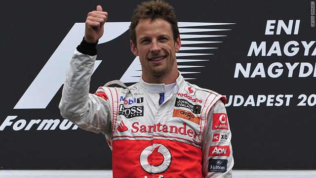 British driver Jenson Button won in Hungary on his 200th grand prix appearance.