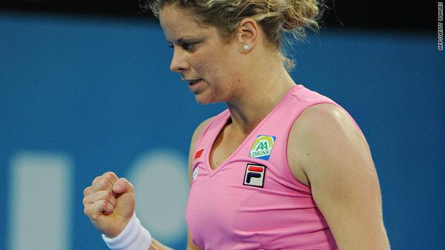 Clijsters In Form Ahead Of Australian Open Cnn Com