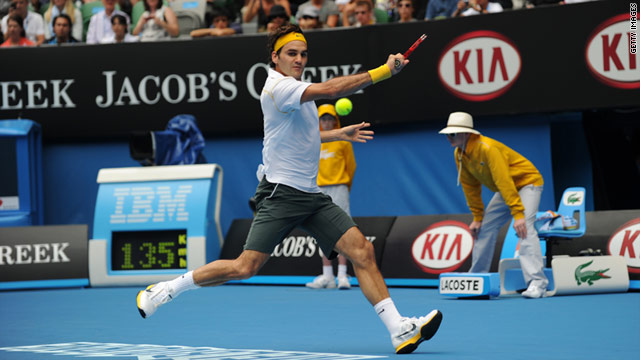 Roger Federer now shares the record for the most matches won at the Australian Open (56) in the Open era.