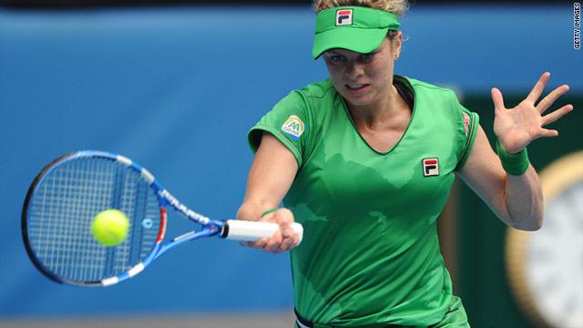 Belgium's Kim Clijsters will play Russian second seed Vera Zvonareva in a repeat of September's U.S. Open final.
