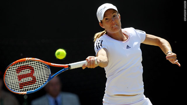 Justine Henin has been unable to recover from the elbow injury she sustained at Wimbledon last year.