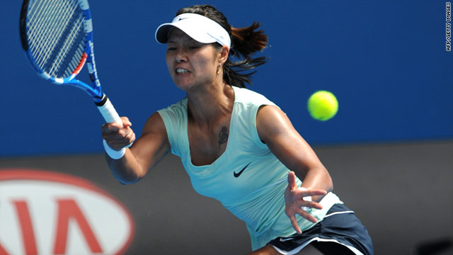 Li Na was beaten in the Australian Open semifinals last year by eventual winner Serena Williams.