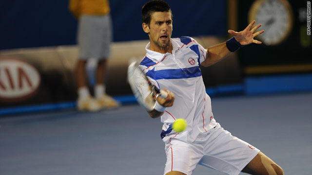 Novak Djokovic produced an impressive display to add the Australian Open title to his Melbourne victory in 2008.