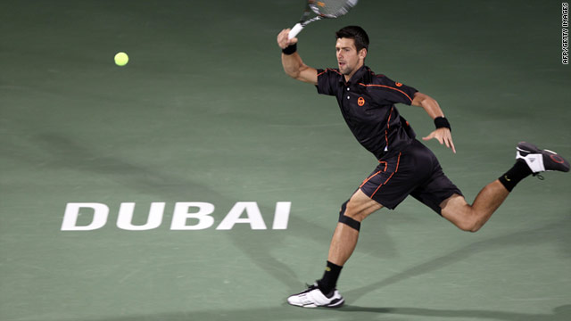 Serbian tennis star Novak Djokovic is now unbeaten in his past 15 matches in Dubai, winning three successive finals.