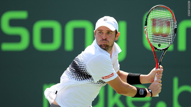 Mardy Fish is America's main hope of victory in Miami after the elimination of defending champion Andy Roddick.