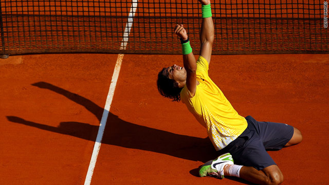 &quot;King of Clay&quot; Rafael Nadal extended his title reign in the Principality of Monaco, beating David Ferrer in the final.