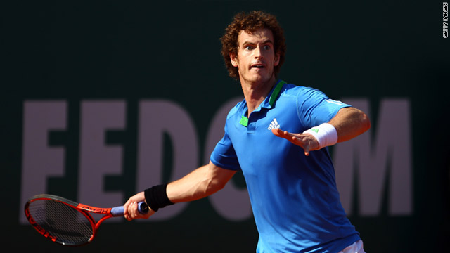 Andy Murray was defeated in the semifinal of th Monte Carlo Masters by Rafael Nadal on Saturday.