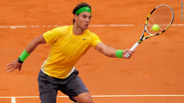 Rafael Nadal won five successive titles in Barcelona before missing last year's tournament due to a knee problem.