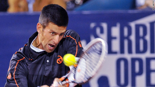 Djokovic has swiftly adapted to clay in his hometown tournament in Serbia.