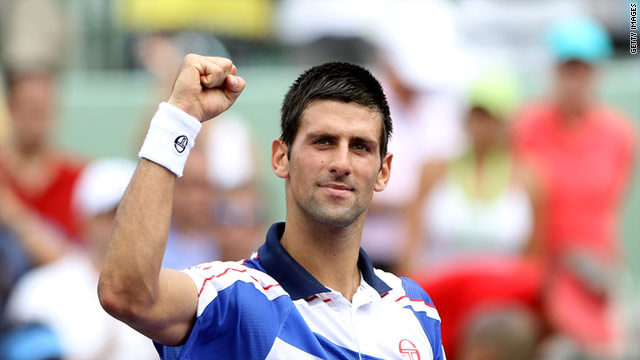 Djokovic has extended his winning run in 2011 to 27 matches.