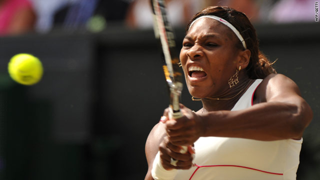 Serena Williams was last in competitive action at last year's Wimbledon tournament.