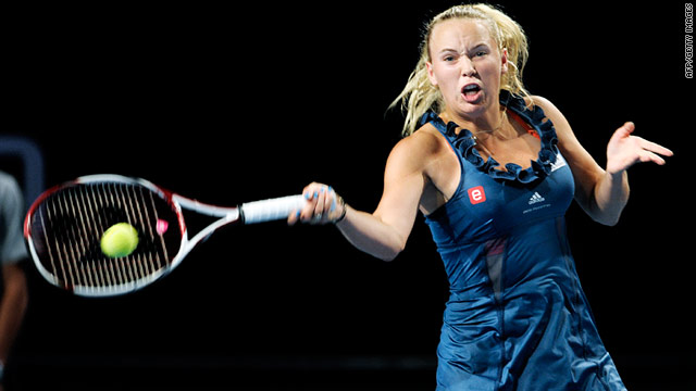 Caroline Wozniacki won the 17th title of her senior career as she retained the Copenhagen Open title.