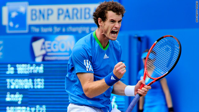Second seed Andy Murray became only the second British player to win two titles at Queen's.