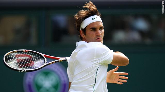 Federer Djokovic Through To Round Two Cnn Com