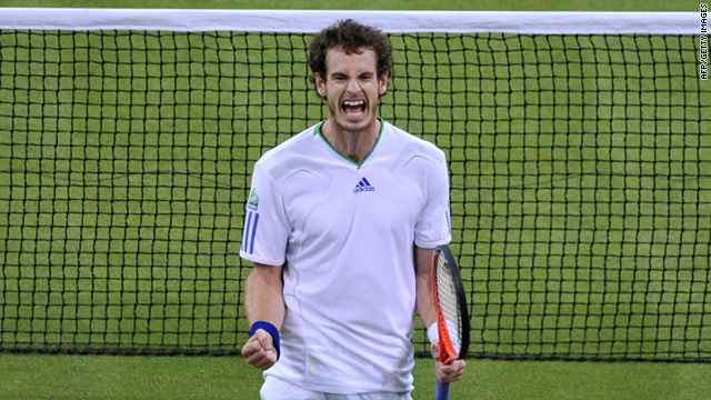 Fourth seed Andy Murray has the weight of Britain's tennis hopes on his shoulders at Wimbledon.