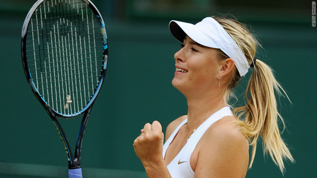 Russia's Maria Sharapova is back in the ladies final at Wimbledon for the first time since 2004.
