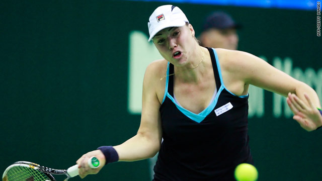 Alisa Kleybanova has revealed she is undergoing treatment in Italy for Hodgkin's Lymphoma.