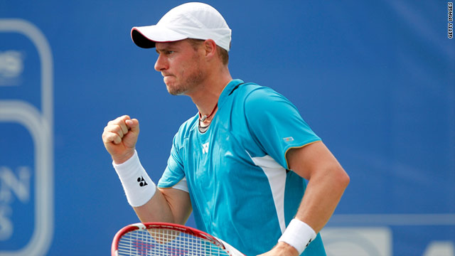 Australian Lleyton Hewitt was crowned U.S. Open champion a decade ago.