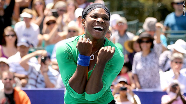 American Serena Williams will be one of the favorites for the U.S. Open after her victory at the Stanford Classic.