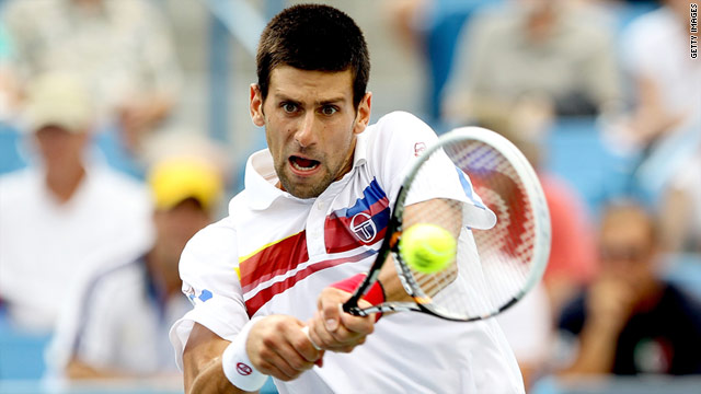 World number one Novak Djokovic has lost only one match in 2011, to Roger Federer at the French Open.