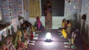 Solar grandmothers in India
