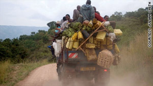 On the road in Uganda: Writer's travels remind him of his luck.