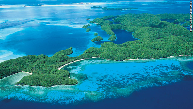 Palau is known as a destination for undersea exploration.