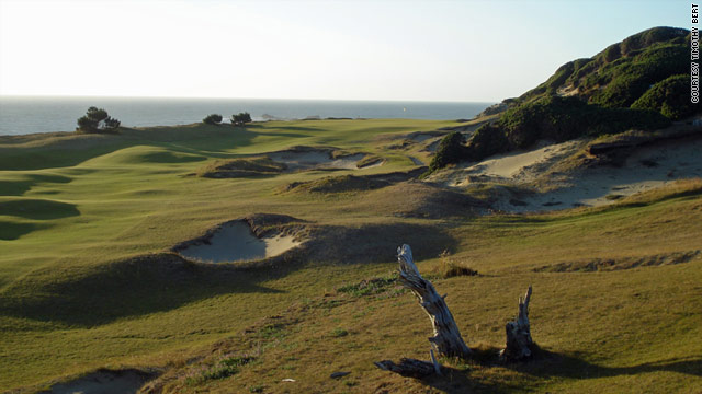 Four courses challenge golfers at Bandon Dunes Golf Resort on the coast of southern Oregon.